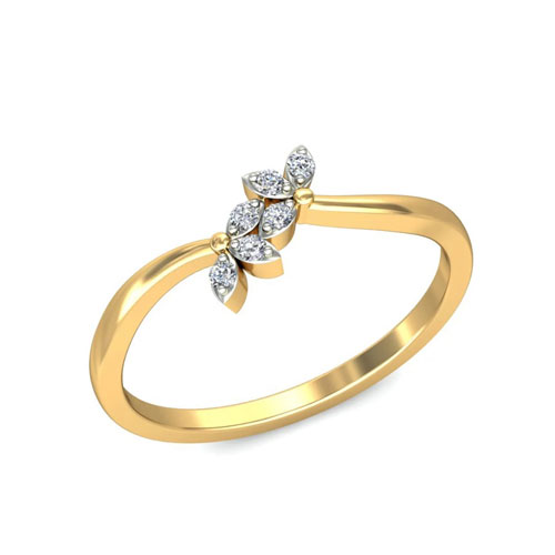 Quality Certified Diamond In 3 Gram 18k
